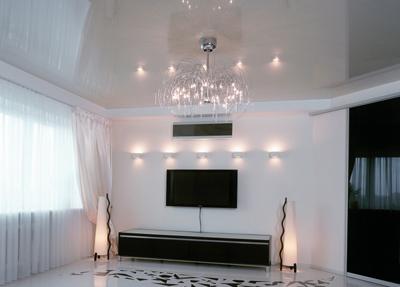 Потолок гостиный